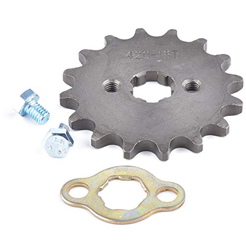 (420 16T 17mm Front Engine Sprocket For 50cc 70cc 110cc 125cc 140cc 160cc ATV Dirt Bike Quad TaoTao Roketa Sunl)