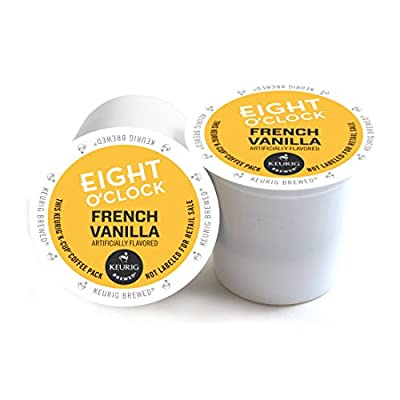Eight O'Clock Coffee French Vanilla Keurig 2.0 K-Cup Pack, 180 Count