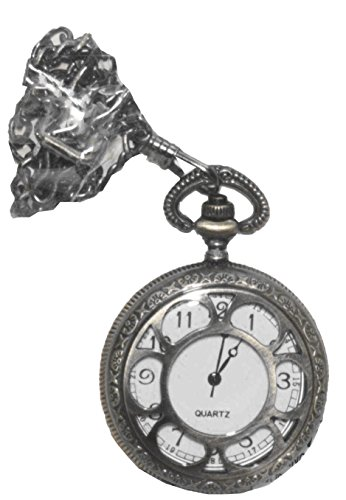 Forum Women's Steampunk Deluxe Pocket Watch, Bronze, One Size