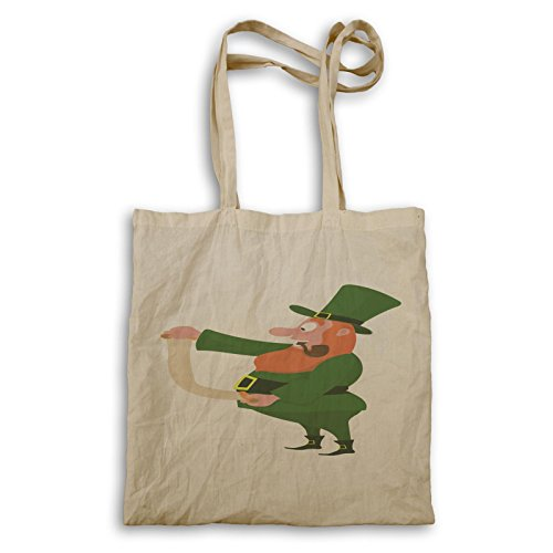St Patrick Day Irish Man Funny Novità Tote Bag B257r