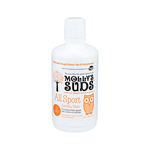 Molly's Suds All Natural Sport Laundry Wash 32 Loads