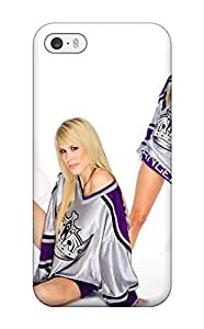Anti-scratch And Shatterproof Los-angeles-kings Phone Case For Iphone 5/5s/ High Quality Tpu Case by kobestar