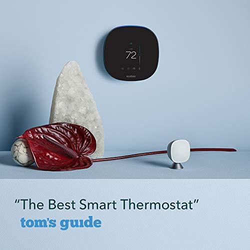 ecobee SmartThermostat with Voice Control SmartSensor Included Alexa BuiltIn