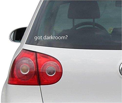 Sticker / Decal - JDM - Die cut - Got Darkroom? Decal Photography Pictures Car Sticker - silver - - Picture Colour Indigo