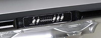 Chef Range Hood Under Cabinet Kitchen Extractor | Stainless Steel Design