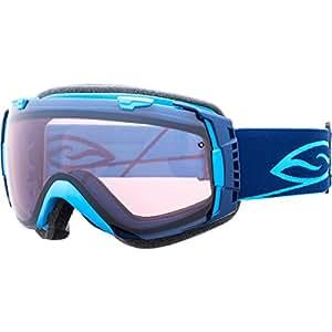 Smith I/O Goggles-Sensor Mirror-Cyan