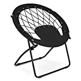 Giantex Folding Bunjo Bungee Chair, Outdoor Camping Gaming Hiking...