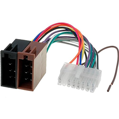 16 pin Cavo adattatore connettore ISO per autoradio CLARION
