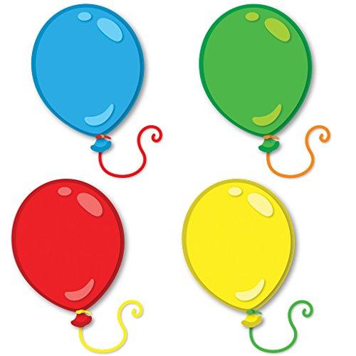 Carson Dellosa Balloons Mini Cut-Outs (120198)