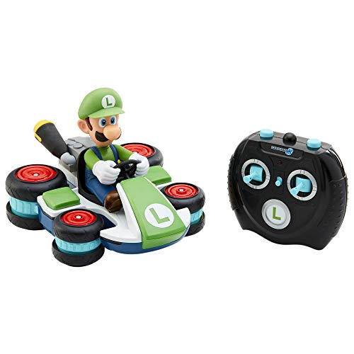 Nintendo Mario Kart 8 Luigi Mini Anti-Gravity Rc Racer 2.4Ghz, with Full Function Steering Create 360 Spins, Whiles & Drift!Up to 100'. Range - for Kids Ages 4+ (Remote Control Bowser)