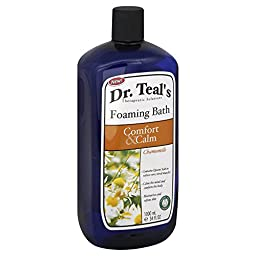 Dr. Teal\'s Comfort & Calm 34 oz. Chamomile Foaming Bath