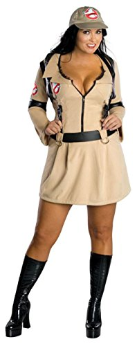 UHC Women's Sexy Secret Wishes Ghostbusters Outfit Fancy Dress Plus Size Costume, Plus (14-16)
