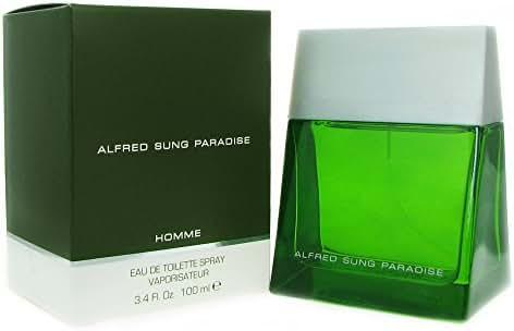 Alfred Sung Paradise For Men. Eau De Toilette Spray 3.4 Ounces