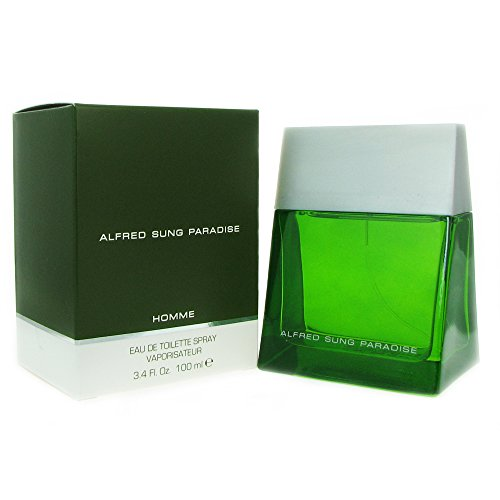Alfred Sung Paradise For Men. Eau De Toilette Spray 3.4 Ounces