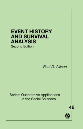 Event History and Survival Analysis (Quantitative Applications in the Social Sciences)