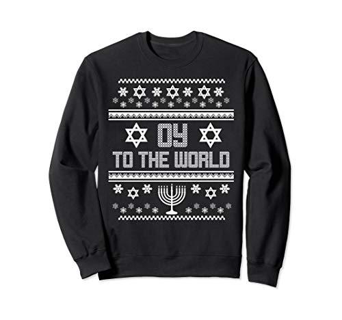 (Hanukkah Ugly Christmas Sweater Tacky)