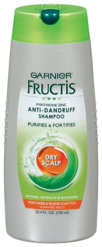 Garnier Fructis Dry Scalp Shampoo Anti-dandruff, 25.40-Fluid