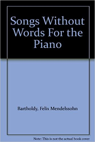 Book Songs without words: for the piano 1915