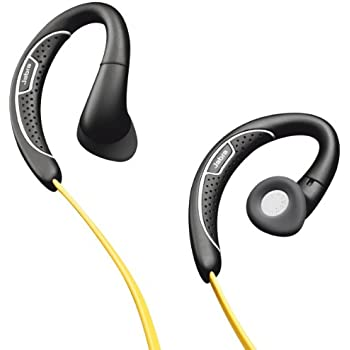 Jabra SPORT - Corded - Sports Headset - Retail Packaging - Black/Yellow (Discontinued by Manufacturer)