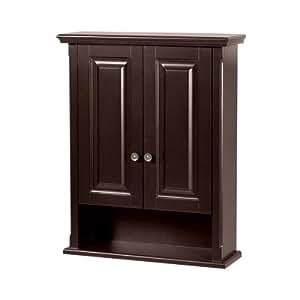 Beau Foremost PAEW2229 Palermo Espresso Bathroom Wall Cabinet