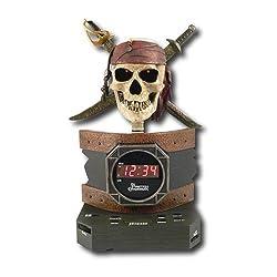 Disney Pirates of the Caribbean Alarm Clock Radio by Generic