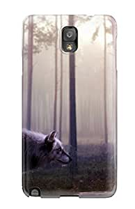 Durable Wild Wolf Back Case/cover For Galaxy Note 3