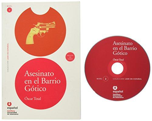 Asesinato en el Barrio Gotico (Libro+CD) (Leer En Espanol...