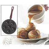 Danish Ebelskiver / Filled Pancake Pan - Cast Aluminum