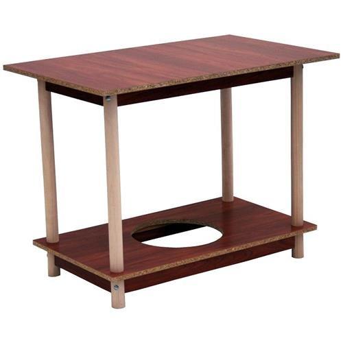 Monchy 80639 - Mesa camilla rectangular de madera 100x60cm: Amazon ...