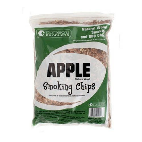 Apple Wood Smoker Chips- 100% Natural, Fine Wood Smoking and Barbecue Chips- 2 lb. Bag (Lil B Halloween)