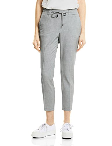 Mujer Street shiny Melange One 11339 Gris Pantalones Grey Para qBtawOB