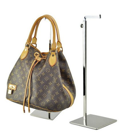 Metal Bag Display Rack Women Handbag Stand Holder with Adjustable -