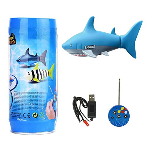 robo fish blue shark - 7