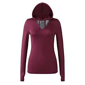 Regna X Re-Order Bother Women's Active Lightweight Full-Zip Hooded Jacket (28 Colors, S-3X)