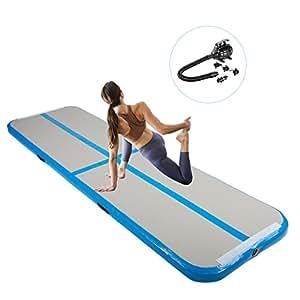 Amazon Com Pinty Inflatable Gymnastics Air Track
