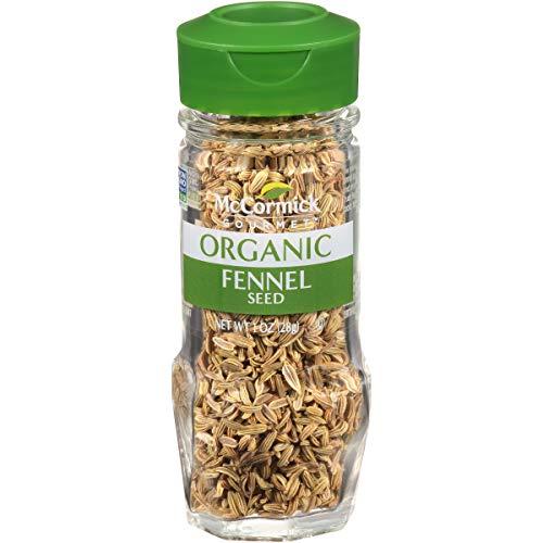 (McCormick Gourmet Organic Fennel Seed, 1 oz)