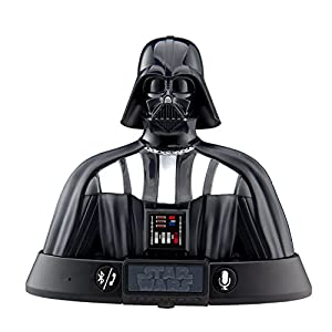 eKids Star Wars Character Portable Bluetooth Speaker Rechargeable Speaker Compatible with Siri Google Assistant