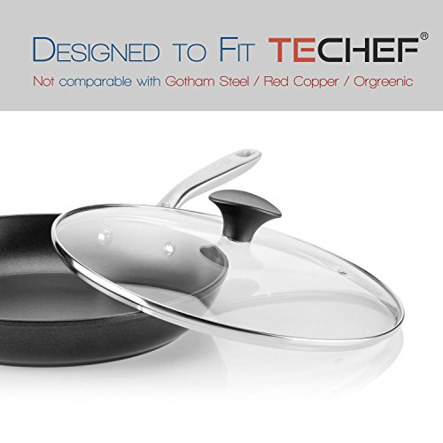 TeChef Cookware Tempered Glass Lid (12-Inch) by TECHEF (Image #3)