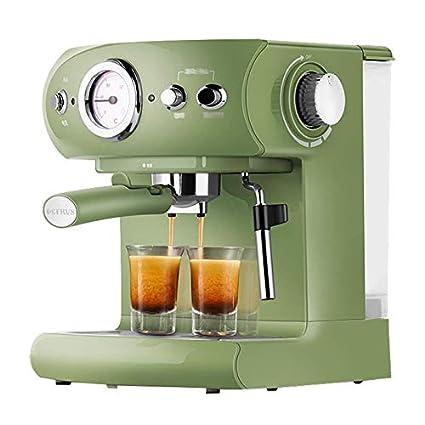 YLLKFJ Máquina de café automática Inteligente Retro casa Comercial pequeña Italiana humeante Espuma Fabricante de café