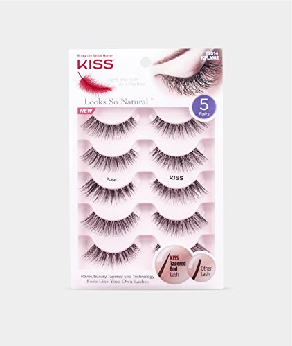 LOOKS SO NATURAL LASH MULTIPACK BY KISS - POISE (Eyelashes Kiss)