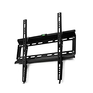 """Yes4All Tilt TV Wall Mount Bracket for 17 - 47"""" PLASMA LCD LED, OLED TVs, up to VESA 400x400 mm – Fits 12"""" and 16"""" Stud Space"""