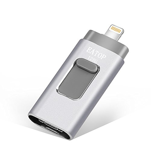 USB Flash Drives 128GB iPhone Memory Stick,EATOP External St