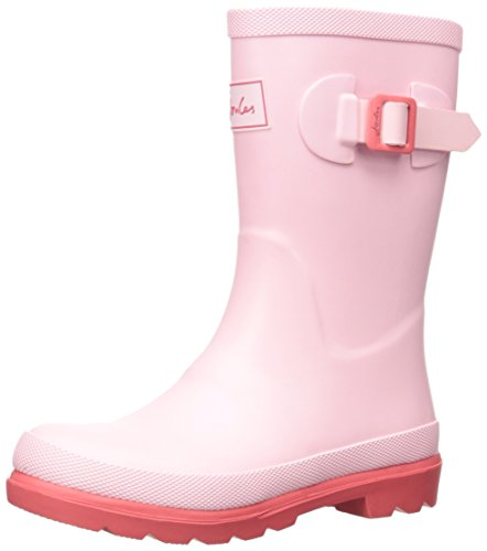 (Joules Girls Field Welly Rain Shoe, Rose Pink, 10 M US Toddler)