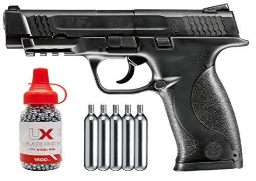 Wearable4U Umarex S&W M&P 45 CO2 Semi Auto .177 BB/Pellets Air Pistol Bundle (Accessories May Vary)