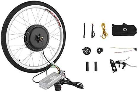 Kit de conversión de motor eléctrico para bicicleta de 36 V, 500 W ...