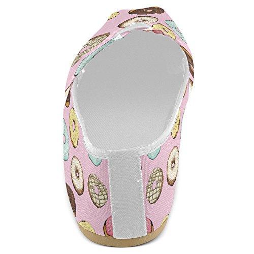 Interestprint Femmes Mocassins Classique Casual Toile Glisser Sur La Mode Chaussures Sneakers Appartements Multi 32