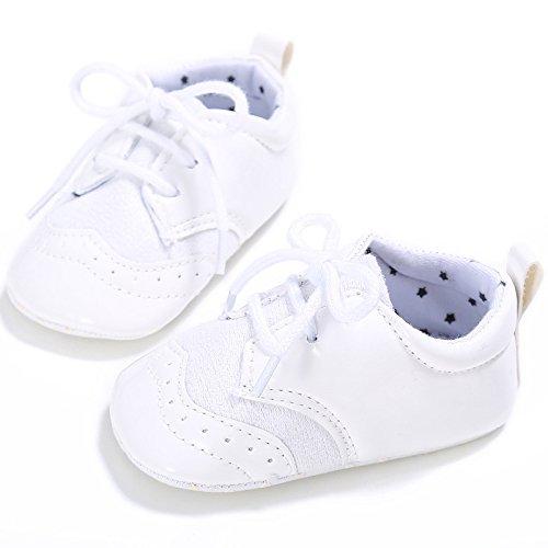leap frogEngland Klassische Sneaker - zapatillas de baile (jazz y contemporáneo) Bebé-Niñas blanco