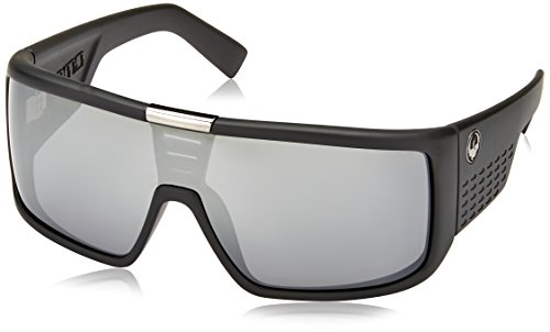 Dragon Alliance Matte Black/Silver Ion Domo - Sunglasses Dragon Domo