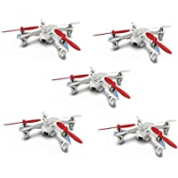 5 x Quantity of Hubsan X4 H107D BNF Live Video 5.8Ghz Quadcopter No Controller Included - FAST FREE SHIPPING FROM Orlando, Florida USA!