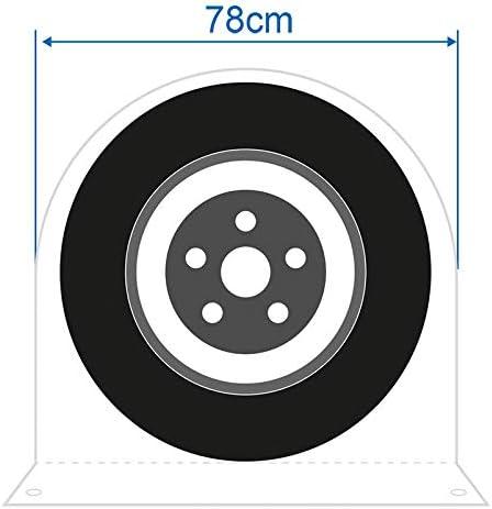 Reifen Schutz Reifenschutz WoWieAgrarTechnik Radabdeckung 78 cm breit 78 cm Rad Radh/ülle f/ür Caravans und Reisemobile Abdeckung